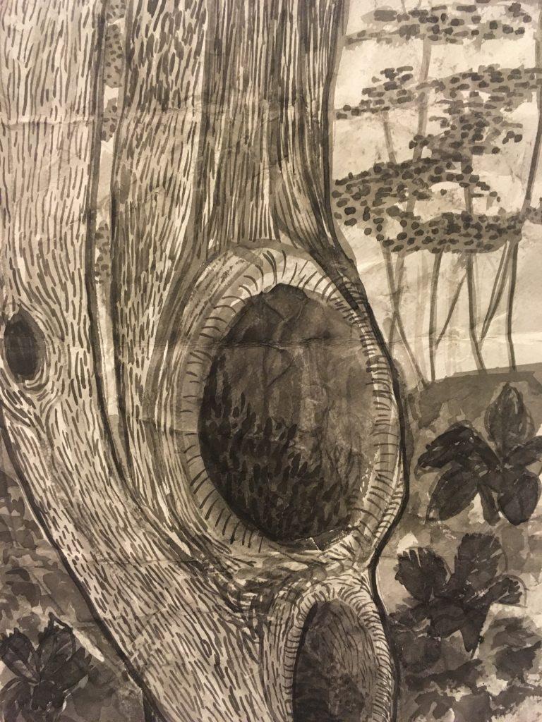 Tree Hollow at Weir Farm