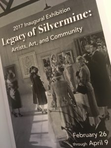 Program for the 'Legacy of Silvermine: Artists, Arts and Community' Exhibition and events