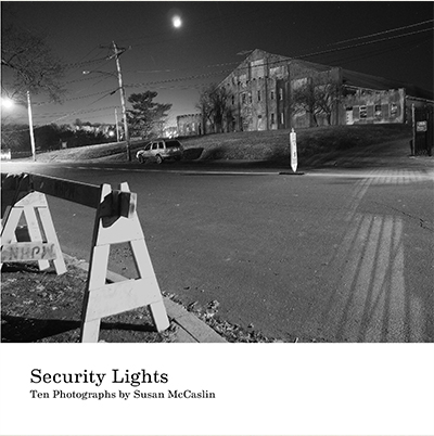 """Security Lights <br />8"""" x 8"""" / Twelve Pages<br />$12.00 <a href=""""https://issuu.com/susanmccaslin/docs/security_lights_2016_final"""">Preview this book</a>"""